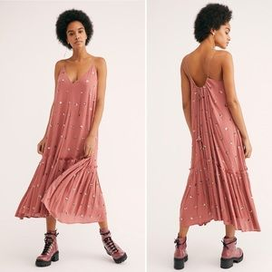 Free People Milky Way Sequin Maxi Dress Size M